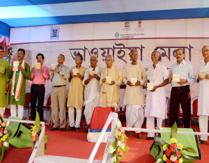 Audio CD of Bhawaiya field recording released at Mela 7