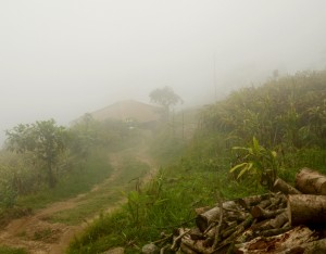 Cloudy evening scene of Kalimpong