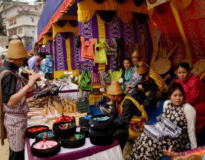 Craft stall during Kalimpong Folk Festival 2017