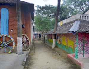 Decorations of Patachitra village, Pingla