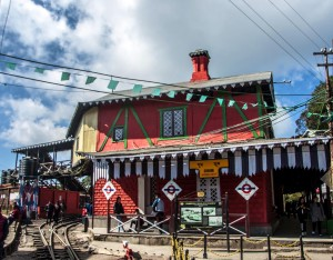 Ghum- India's highest railway station at Darjeeling