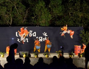Natua dance at Tepantar during Basanta Utsav