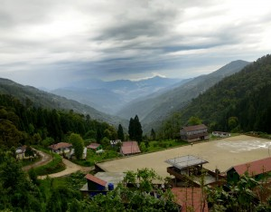 Top view from Kalimpong