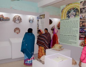 Visitors at Community Museum, Charida