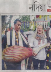 News clippings of Baul Fakiri Utsav 2017 Gorbhanga_ABP Nadia 18 Nov 2017