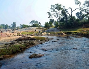 Riverside view near Bamnia, Purulia