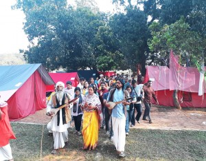 Baul and Tent