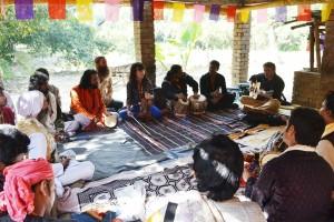 Baul music discourse at Gorbhanga